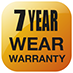 7 Year Wear Warranty